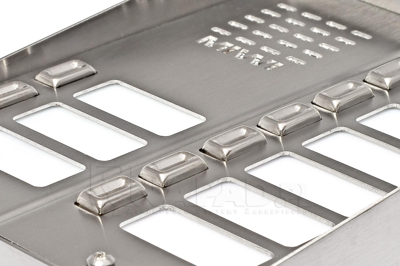 Panel domofonowy z 10 przyciskami MIWUS 5025/10D