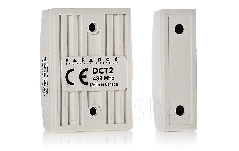 Bezprzewodowy czujnik kontaktronowy DCT2 K9A