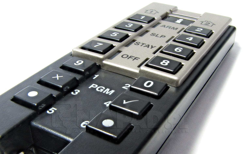 Pilot z wbudowaną klawiaturą numeryczną REM3