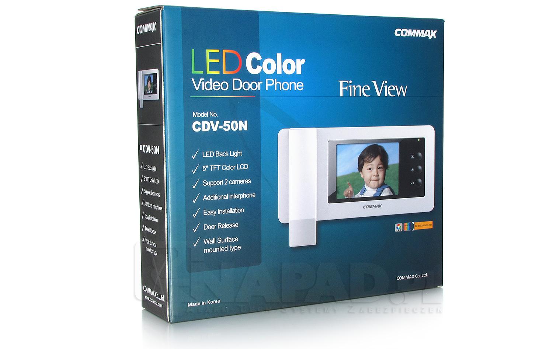 Monitor wideodomofonowy kolorowy CDV-50N COMMAX