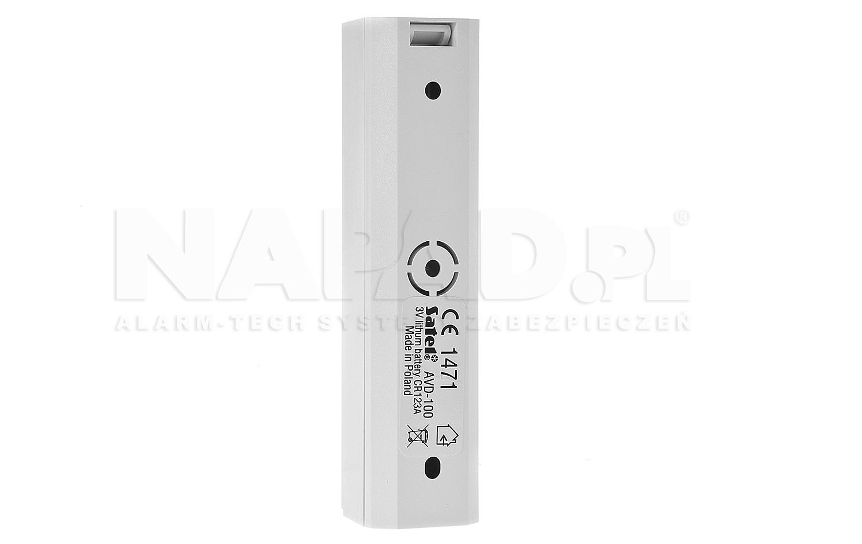 ABAX bezprzewodowa czujka wibracyjna i magnetyczna AVD-100