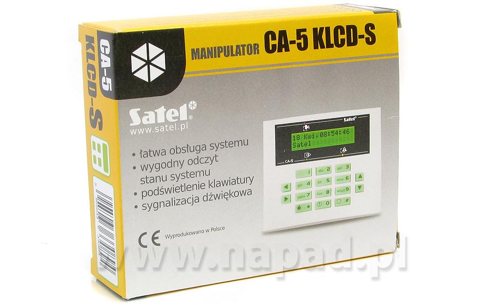 Klawiatura CA5 LCD S blue SATEL