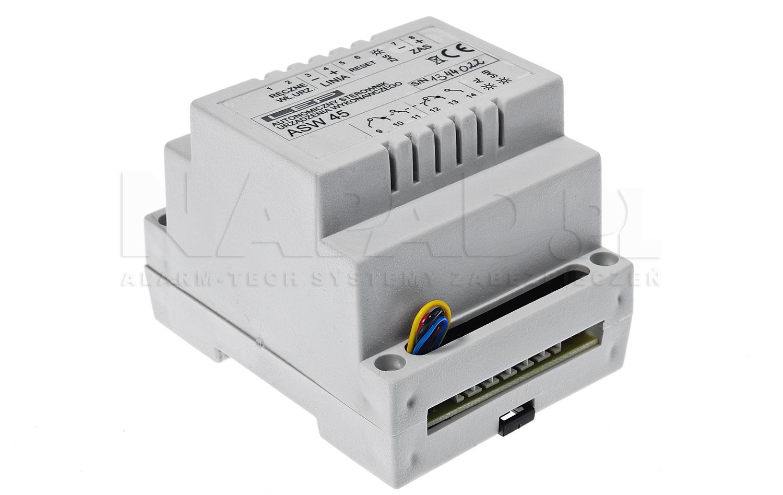 Autonomiczny sterownik urządzeń wykonawczych ASW45