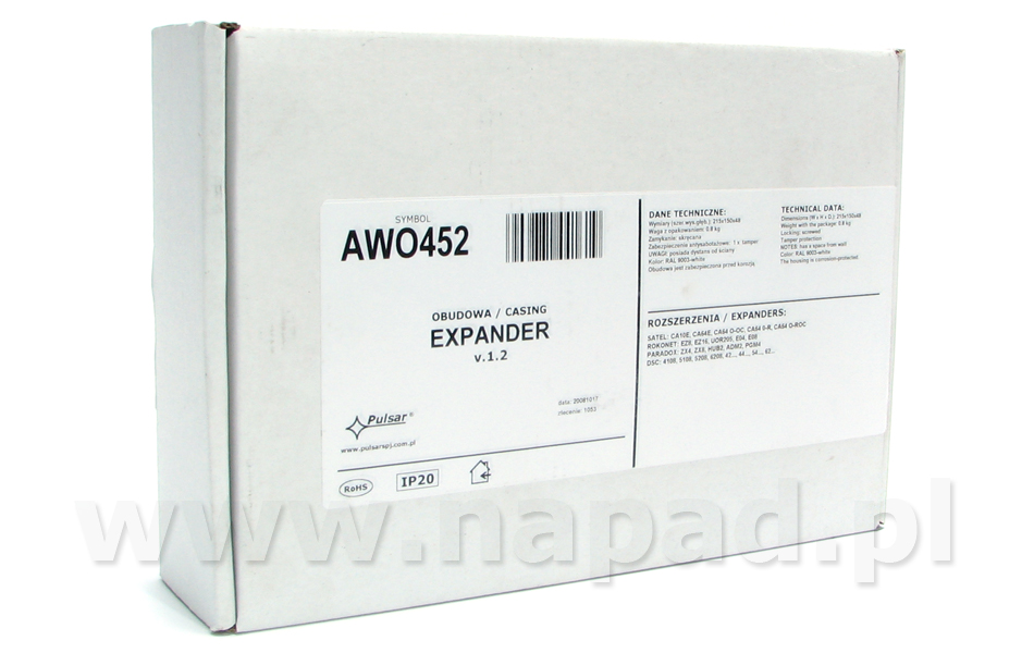 Obudowa Expander AWO452
