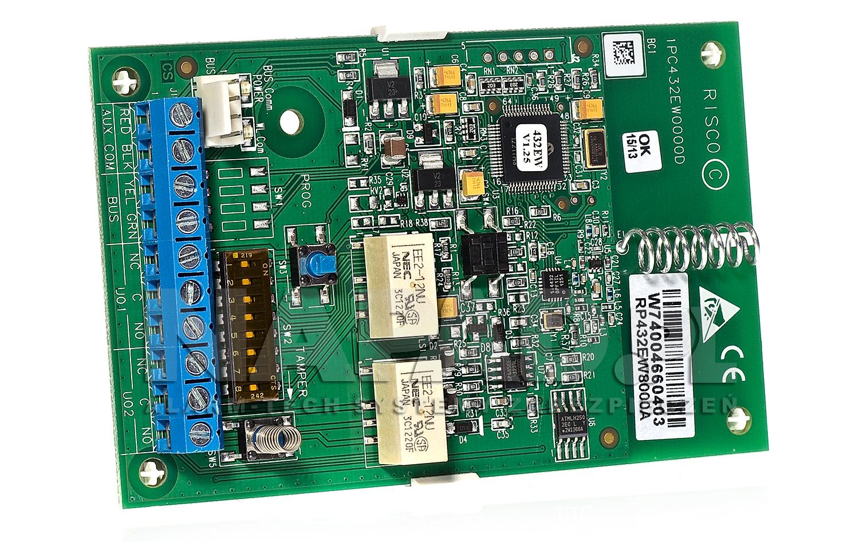 Wielozadaniowy moduł rozszerzeń RP432EW8000A Risco