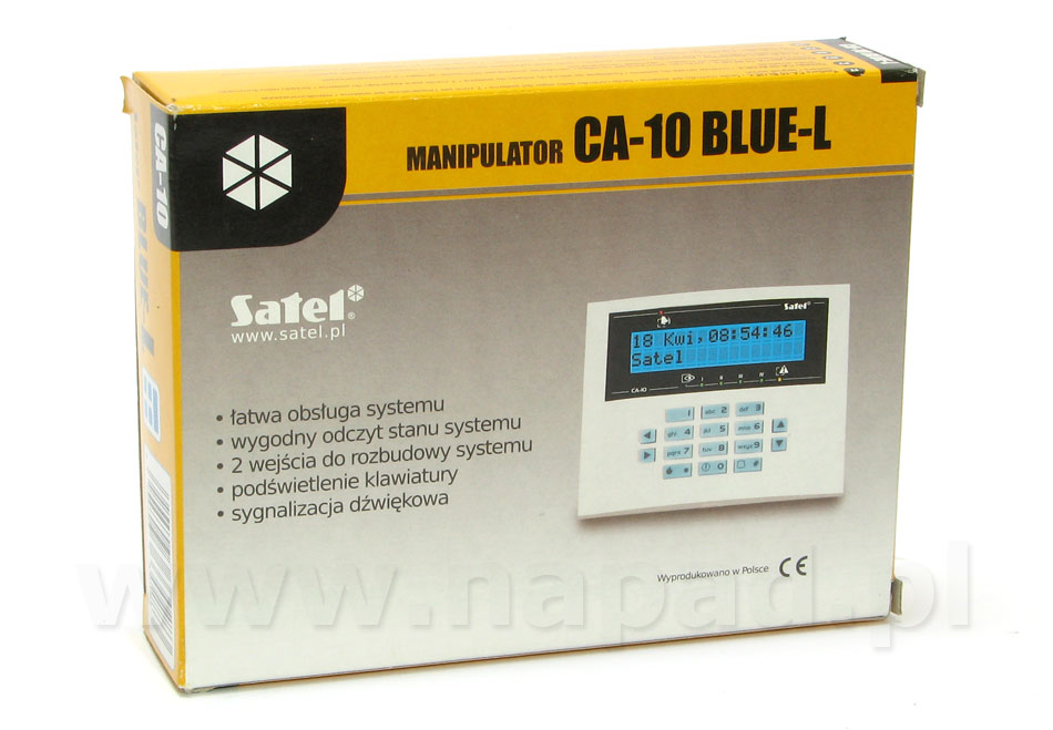 Manipulator CA-10 BLUE-L SATEL