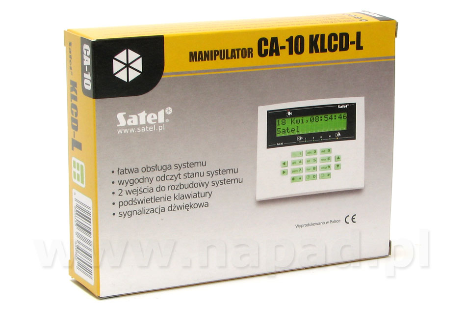 Manipulator CA-10 KLCD-L SATEL