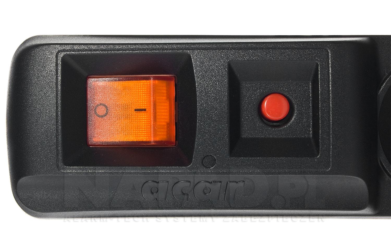 Filtr zasilający Acar S8 10A 1,5m