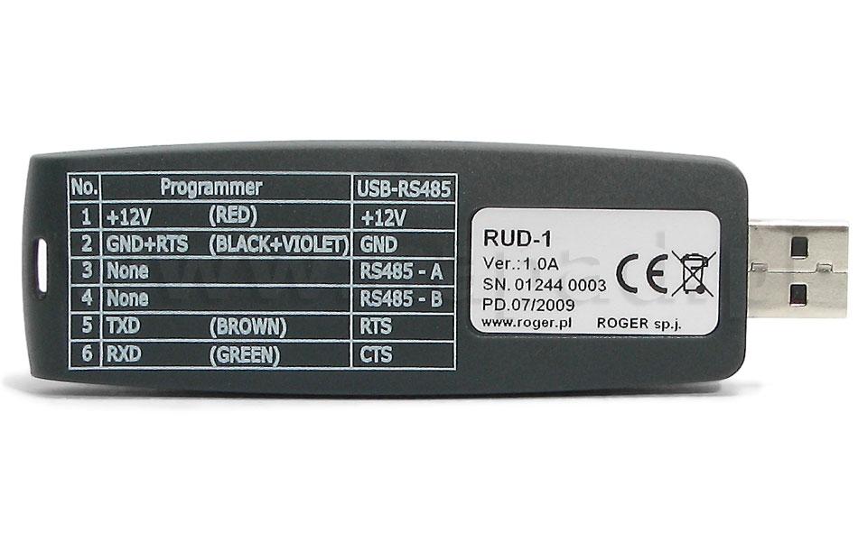 Interfejs komunikacyjny, programator RUD-1