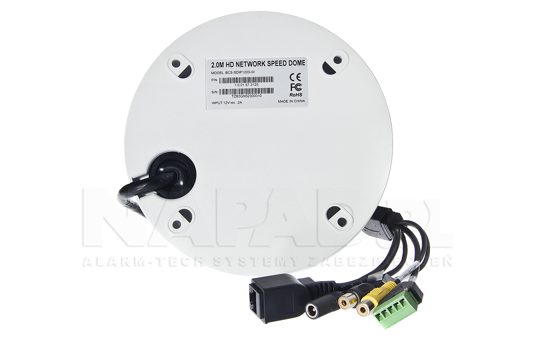 Kamera szybkoobrotowa megapikselowa BCS-SDIP1203-W