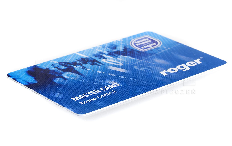 EMC-7 karta zbliżeniowa z nadrukiem ROGER Master