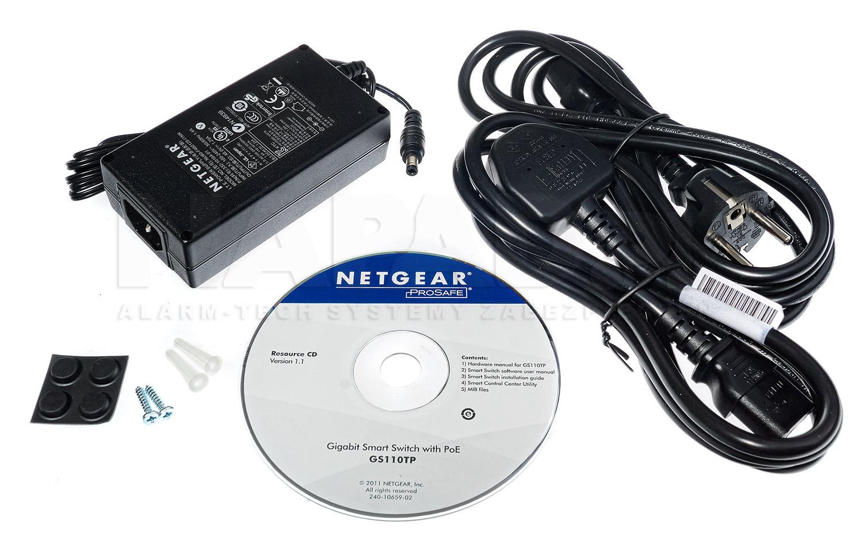 Switch 10-portowy GS110TP PoE NETGEAR