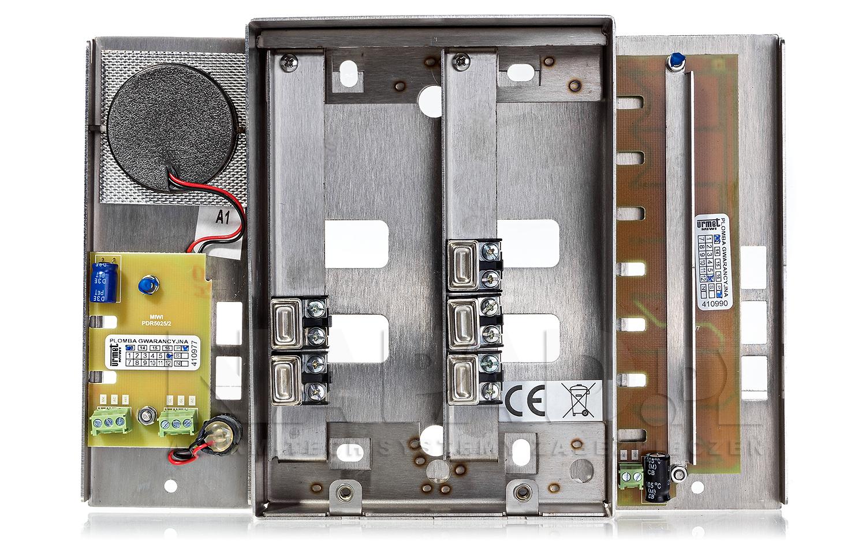 Panel domofonowy z 5 przyciskami MIWUS 5025/5D
