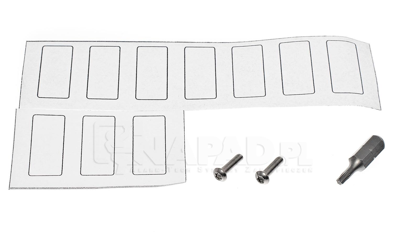 Panel domofonowy z 8 przyciskami MIWUS 5025/8D