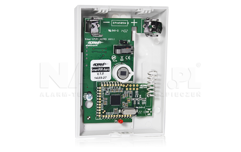 Cyfrowa, bezprzewodowa czujka podczerwieni SmartPIR-Aero