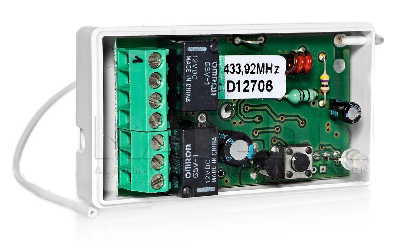 DWM50HM - Sterownik radiowy 2 kanałowy