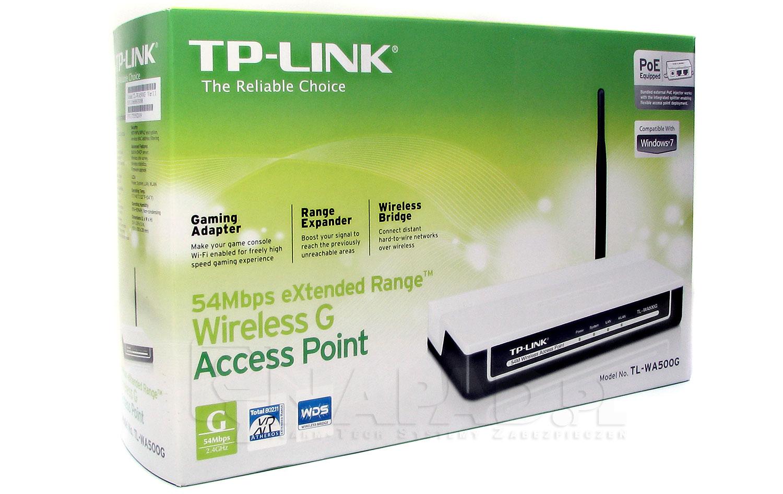Punkt dostępowy 54Mbps TP-Link TL-WA500G