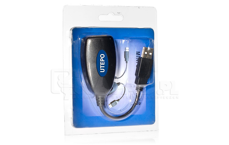 Przedłużacz USB Extender AT-UTP601USB-M