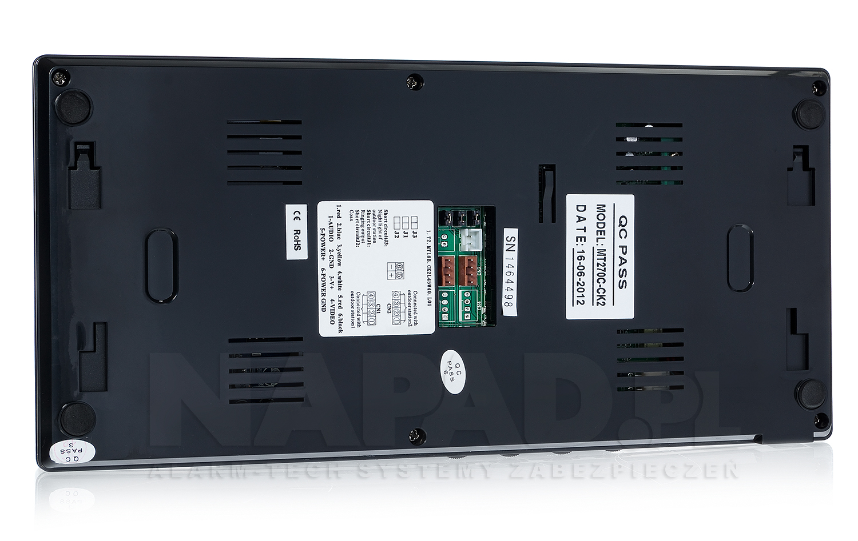 Monitor do wideodomofonu M270B / MT270C-CK2 B