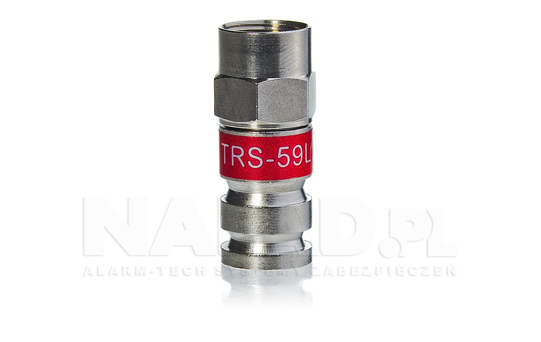 Złącze F kompresyjne (RG59)