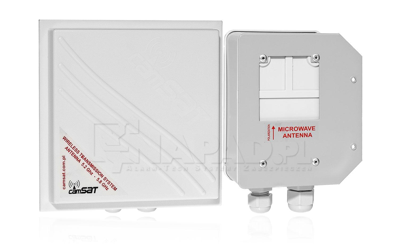 Hermetyczny zestaw CAMsat 5,8 Ghz TCO5807h