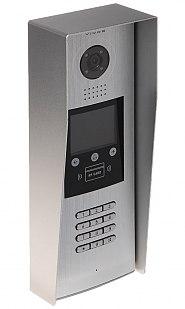 S1600 - Wieloabonentowa stacja bramowa z zamkiem szyfrowym, czytnikiem RFID i wyświetlaczem LCD