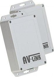 Transmisja bezprzewodowa wideo AHD, CVI, TVI do wind, AV-500-4HD-L