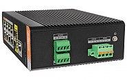 Gigabitowy switch 10-portowy DH-PFS4210-8GT-DP