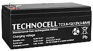 Akumulator 3.6Ah/12V TC12-3.6 T1