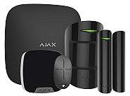 Alarmowy zestaw promocyjny AJAX Hub Czarny