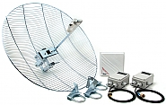 Hermetyczny zestaw CAMsat 5,8 Ghz CAM5816h/5km - 1