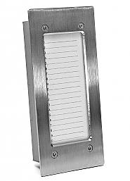 NP-2512 - Panel informacyjny pionowy INOX