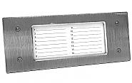 NP-2511 - Panel informacyjny poziomy INOX