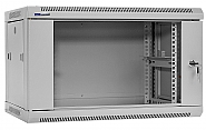 Szafa Rack 19'' 6U 450mm wisząca W6406W