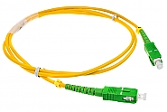 Patchcord jednomodowy SC/APC-SC/APC 9/125 1m simplex