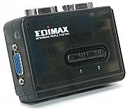 Przełącznik KVM Edimax EK-UAK2 USB 2-portowy - 1