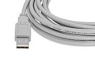 Przewód USB wtyk-gniazdo 500 cm