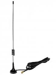 Antena dwuzakresowa GSM 9dB z magnesem - 1