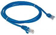Patchcord UTP kat.5E niebieski - 1.5m