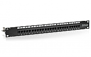 Patch panel 25-port UTP3E 19'' złącza krone