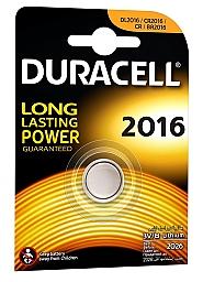 Bateria litowa CR2016 DURACELL