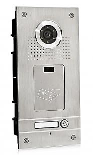 S561A - Jednoabonentowa stacja bramowa z kamerą i czytnikiem RFID