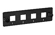 Panel 8-portowy do adapterów LC FPD55-8-A - 1