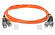 Patchcord optyczny wielomodowy FC-ST 50/125 2m duplex - 6