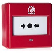 Konwencjonalny ręczny ostrzegacz pożarowy wewnętrzny ROP-100