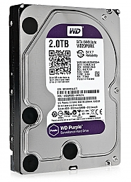 Dysk 2TB SATA III Western Digital Purple - 1