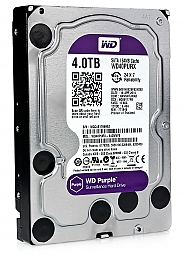 Dysk 4TB SATA III Western Digital Purple - 1