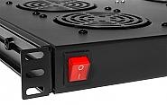 Włącznik wentylatorów w półce Rack Systems FANS4