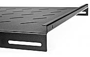 Półka czarna szafy Rack 1000mm