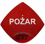 Zewnętrzny sygnalizator głosowo - optyczny SGO-Pgz2